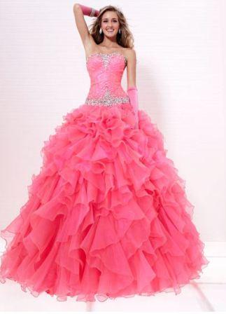 plus size quinceanera dresses cheap
